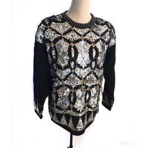 Vintage 80's Sequin sweater
